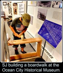 Creating the Ocean City Boardwalk at Ocean City, NJ Historical Museum