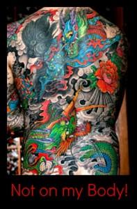 No tattoo!