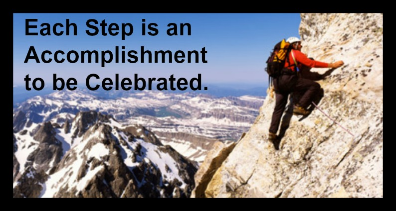 Celebrate Each Step and Acknowledge Growth