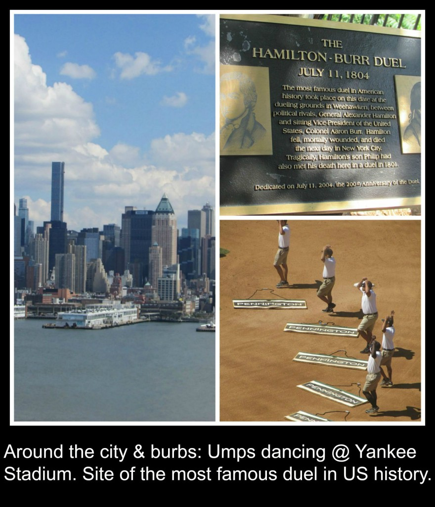 Yankee Stadium and Burr Hamilton Duel